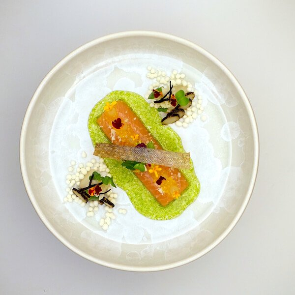 Saibling 'ikejime' | Signature Dishes | Christian Bau