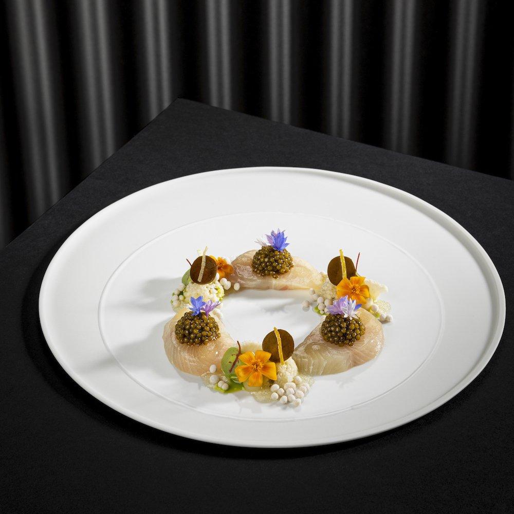Sterneküche | Amber Jack & Caviar | Christian Bau