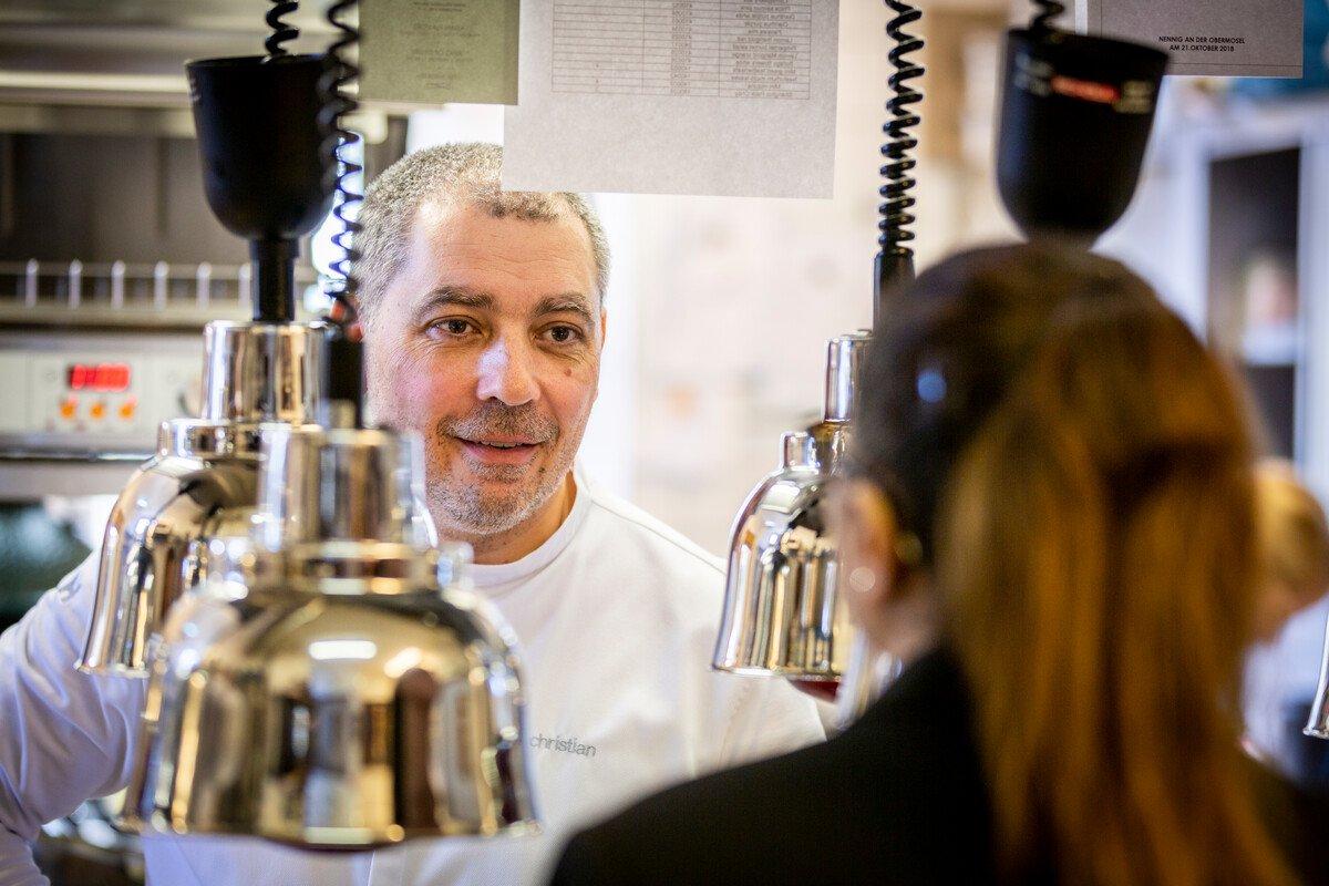 Sternekoch im Restaurant Victor's Fine Dining | Christian Bau
